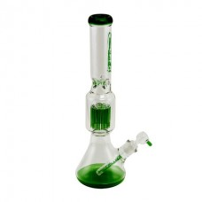 Atomic Glass Bong 7mm 45cm Clear + Green