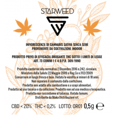 STARWEED ORANGE 0,5GR THC<0,2