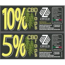 ZWEED OLIO CBD 10%  TOP QUALITY 10 ML